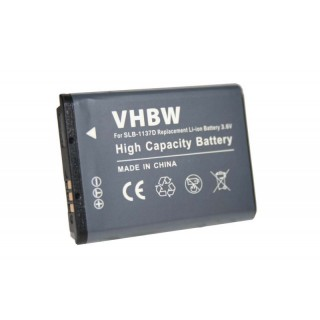 Baterija SLB-1137D za Samsung Digimax i85 / L74 wide / NV11 / NV24 HD / NV30, 750 mAh
