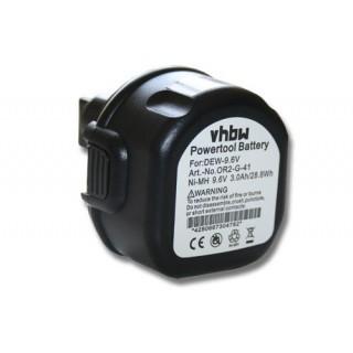 Baterija za DeWalt DW902 / DW955K / Black & Decker CD9600K / PS3200, 9.6 V, 3.0 Ah
