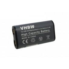 Baterija CR-V3 / LB-01 za Canon PowerShot A60 / Pentax Optio 230 / Olympus D100, 1000 mAh