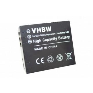 Baterija CGA-S005 za Panasonic Lumix DMC-FC01 / DMC-FX8 / DMC-LX1, 1000 mAh