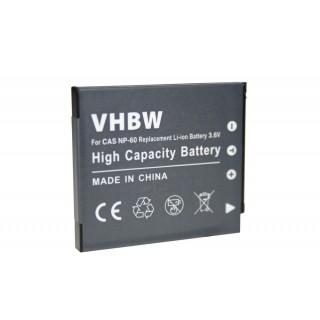 Baterija NP-60 za Casio Exilim EX-FS10 / EX-S12 / EX-Z90, 550 mAh