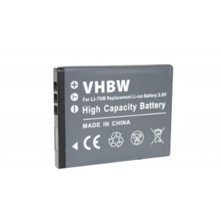 Baterija LI-70B za Olympus D-700 / FE-5040 / VG-160, 600 mAh