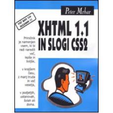 Priročnik XHTML 1.1 in slogi CSS2, Peter Mrhar