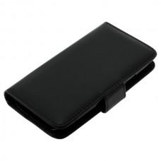 OTB preklopna torbica za Samsung Galaxy S3 / I9300 iz umetnega usnja, črna