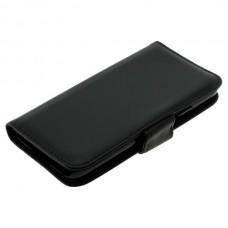 OTB preklopna torbica za Samsung Galaxy S5 / I9600 iz umetnega usnja, črna