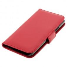 OTB preklopna torbica za Samsung Galaxy S5 / I9600 iz umetnega usnja, rdeča