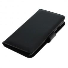OTB preklopna torbica za Apple iPhone 6 Plus / 6s Plus iz umetnega usnja, črna