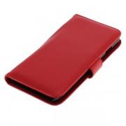 OTB preklopna torbica za Apple iPhone 6 Plus / 6s Plus iz umetnega usnja, rdeča