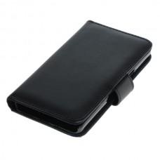 OTB preklopna torbica za Samsung Galaxy A5 / SM-A500 iz umetnega usnja, črna
