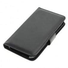 OTB preklopna torbica za Samsung Galaxy S6 Edge iz umetnega usnja, črna