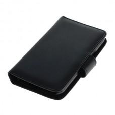 OTB preklopna torbica za Samsung Galaxy J1 / SM-J100 iz umetnega usnja, črna