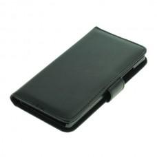 OTB preklopna torbica za Huawei P8 iz umetnega usnja, črna