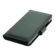 OTB preklopna torbica za Huawei P8 Lite iz umetnega usnja, črna