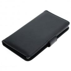 OTB preklopna torbica za Sony Xperia Z5 iz umetnega usnja, črna