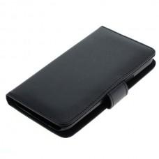 OTB preklopna torbica za Samsung Galaxy J5 / SM-J500F iz umetnega usnja, črna
