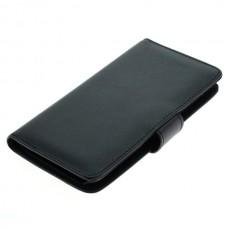 OTB preklopna torbica za Huawei Y625 iz umetnega usnja, črna