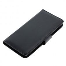 OTB preklopna torbica za Nokia Lumia 950 iz umetnega usnja, črna