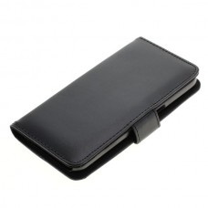 OTB preklopna torbica za Samsung Galaxy S7 iz umetnega usnja, črna