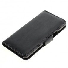 OTB preklopna torbica za Samsung Galaxy A5 iz umetnega usnja, črna