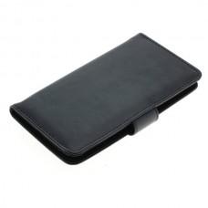 OTB preklopna torbica za Motorola Moto G (3rd Generation) iz umetnega usnja, črna