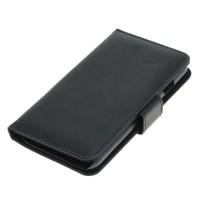 OTB preklopna torbica za Apple iPhone 7 / 8 iz umetnega usnja, črna