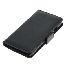 OTB preklopna torbica za Apple iPhone 7 iz umetnega usnja, črna