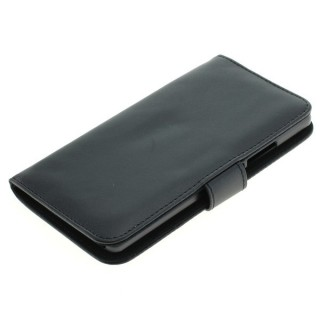 OTB preklopna torbica za Huawei P9 Lite iz umetnega usnja, črna