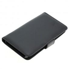 OTB preklopna torbica za Sony Xperia XA iz umetnega usnja, črna
