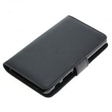 OTB preklopna torbica za Sony Xperia X Performance iz umetnega usnja, črna