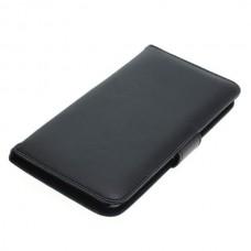 OTB preklopna torbica za Huawei P9 Plus iz umetnega usnja, črna