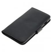 OTB preklopna torbica za Apple iPhone 7 Plus / 8 Plus iz umetnega usnja, črna