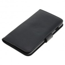 OTB preklopna torbica za Apple iPhone 7 Plus iz umetnega usnja, črna