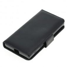 OTB preklopna torbica za Sony Xperia X Compact iz umetnega usnja, črna