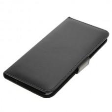 OTB preklopna torbica za Huawei Mate 9 iz umetnega usnja, črna