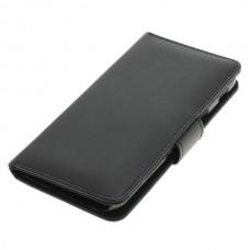 OTB preklopna torbica za Samsung Galaxy A5 (2017) / SM-A520F iz umetnega usnja, črna