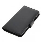 OTB preklopna torbica za Huawei P10 iz umetnega usnja, črna