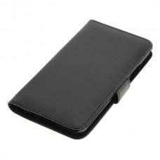 OTB preklopna torbica za Huawei P10 Plus iz umetnega usnja, črna