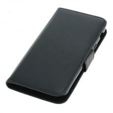 OTB preklopna torbica za Samsung Galaxy XCover 4 / SM-G390F iz umetnega usnja, črna