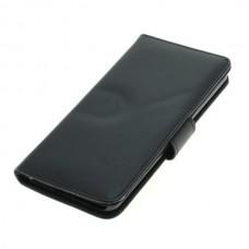 OTB preklopna torbica za LG G6 iz umetnega usnja, črna