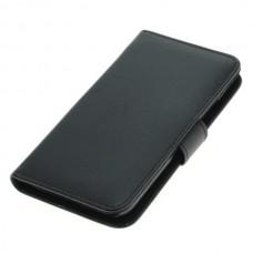 OTB preklopna torbica za Motorola Moto G5 Plus iz umetnega usnja, črna