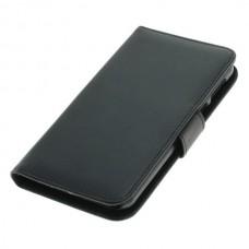 OTB preklopna torbica za HTC U Play iz umetnega usnja, črna