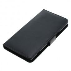 OTB preklopna torbica za Sony Xperia XZ Premium iz umetnega usnja, črna