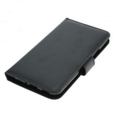 OTB preklopna torbica za HTC U11 iz umetnega usnja, črna