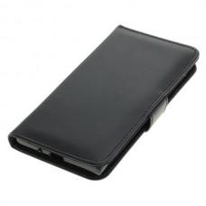 OTB preklopna torbica za Sony Xperia XZ1 iz umetnega usnja, črna
