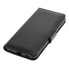 OTB preklopna torbica za LG V30 iz umetnega usnja, črna
