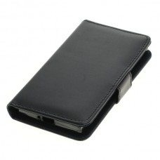 OTB preklopna torbica za Sony Xperia XZ1 Compact iz umetnega usnja, črna