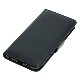 OTB preklopna torbica za Huawei P Smart iz umetnega usnja, črna