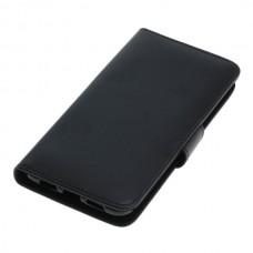 OTB preklopna torbica za Huawei P20 iz umetnega usnja, črna