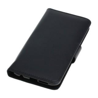 OTB preklopna torbica za Huawei P20 Lite iz umetnega usnja, črna