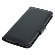 OTB preklopna torbica za Nokia 8 Sirocco iz umetnega usnja, črna